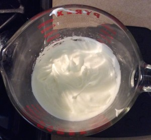 Beaten Egg White Meringue