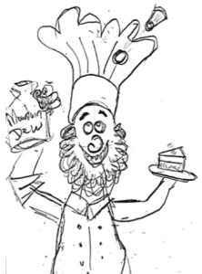Mountain Dew Chef Cartoon