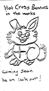 Hot Cross Bunny Cartoon