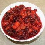 Cranberry Sauce Apples Oranges