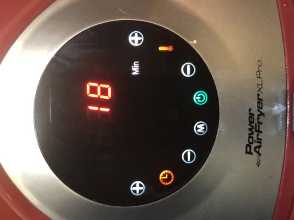 Air Fryer Timer Setting 18 minutes